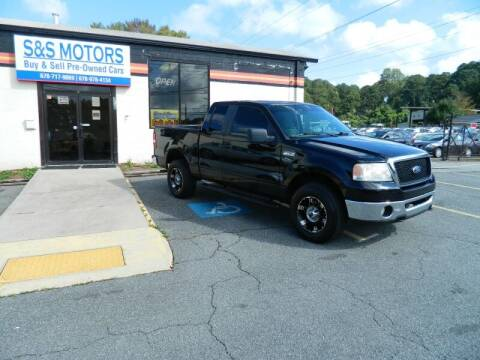 2007 Ford F-150 for sale at S & S Motors in Marietta GA