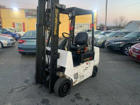 2000 Hyester 3 STAGE FORKLIFT for sale at Virginia Auto Mall in Woodford VA