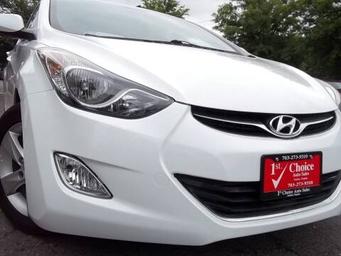 2013 Hyundai Elantra for sale at 1st Choice Auto Sales in Fairfax VA