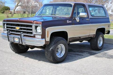 1977 Chevrolet Blazer for sale at Great Lakes Classic Cars & Detail Shop in Hilton NY