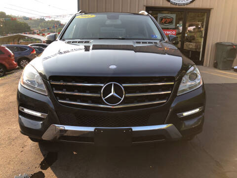2012 Mercedes-Benz M-Class for sale at W V Auto & Powersports Sales in Charleston WV