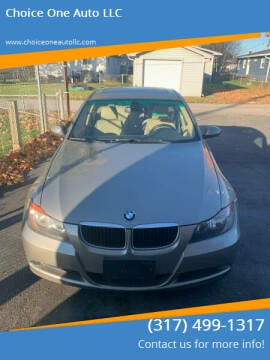 2008 BMW 3 Series for sale at Choice One Auto LLC in Beech Grove IN