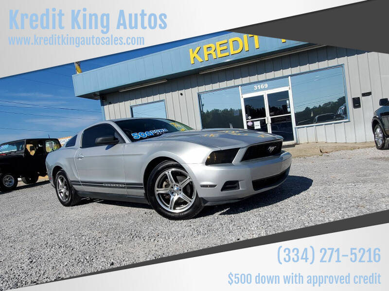 2010 Ford Mustang for sale at Kredit King Autos in Montgomery AL