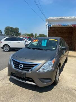 2015 Nissan Versa for sale at Top Auto Sales in Petersburg VA