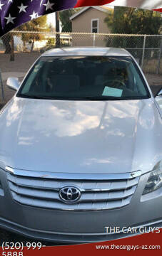 2006 Toyota Avalon for sale at The Car Guys in Tucson AZ