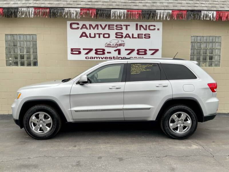 2011 Jeep Grand Cherokee for sale at Camvest Inc. Auto Sales in Depew NY