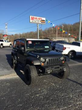 2007 Jeep Wrangler Unlimited for sale at MARLAR AUTO MART SOUTH in Oneida TN