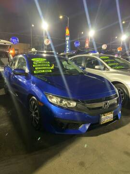 2017 Honda Civic for sale at LA PLAYITA AUTO SALES INC - 3271 E. Firestone Blvd Lot in South Gate CA