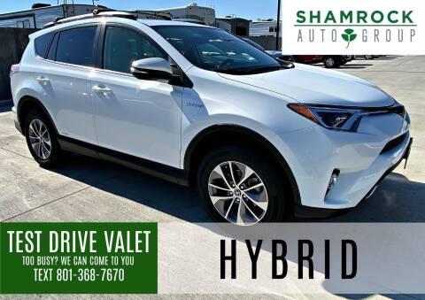 2018 Toyota RAV4 Hybrid for sale at Shamrock Group LLC #1 in Pleasant Grove UT