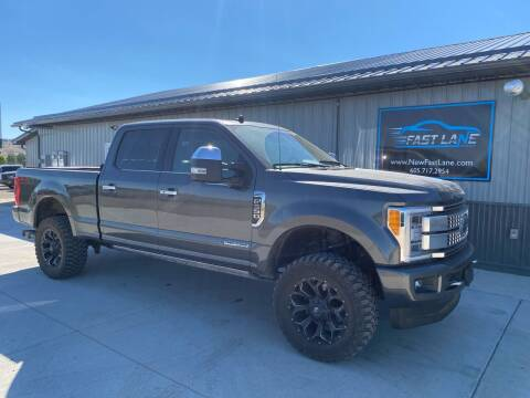 2019 Ford F-350 Super Duty for sale at FAST LANE AUTOS in Spearfish SD
