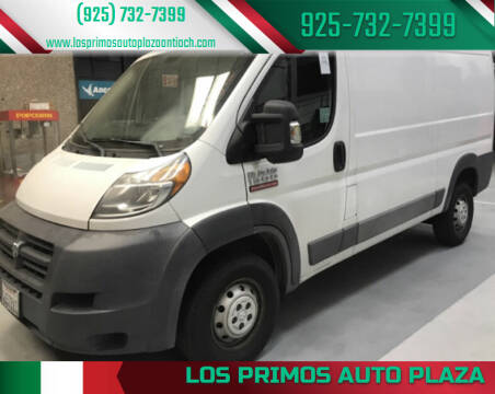 2016 RAM ProMaster Cargo for sale at Los Primos Auto Plaza in Antioch CA