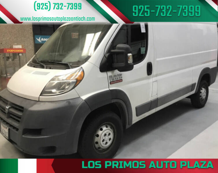 2016 RAM ProMaster Cargo for sale at Los Primos Auto Plaza in Antioch CA