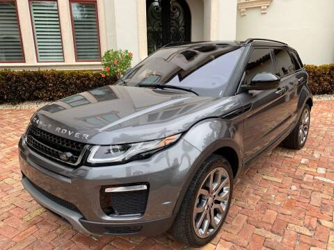 2016 Land Rover Range Rover Evoque for sale at Mirabella Motors in Tampa FL
