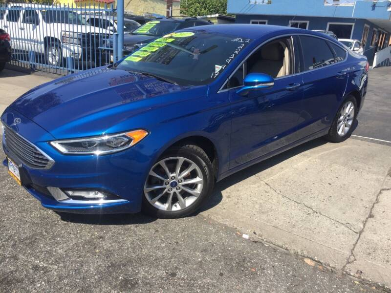 2017 Ford Fusion for sale at 2955 FIRESTONE BLVD in South Gate CA