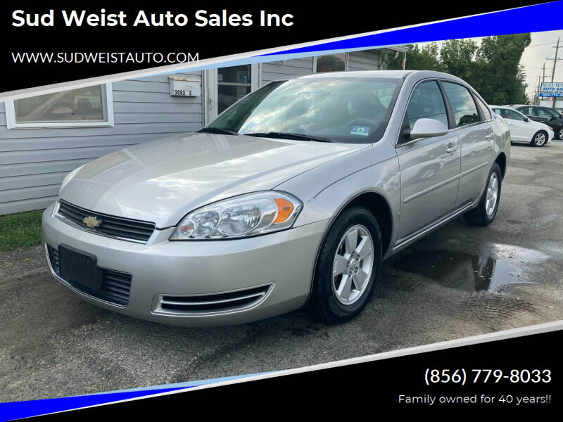 2008 Chevrolet Impala for sale at Sud Weist Auto Sales Inc in Maple Shade NJ