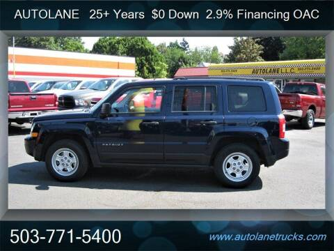 2015 Jeep Patriot for sale at Auto Lane in Portland OR