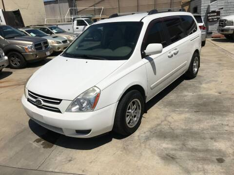 2006 Kia Sedona for sale at OCEAN IMPORTS in Midway City CA