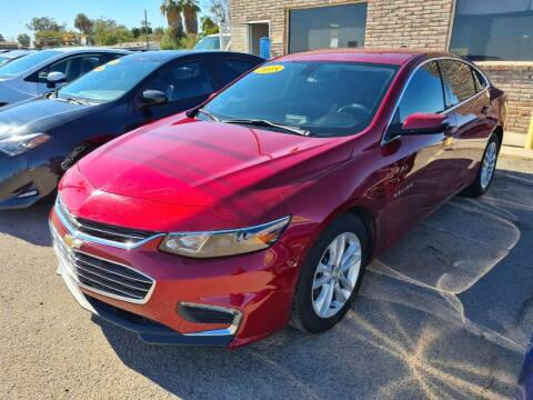 2018 Chevrolet Malibu for sale at A AND A AUTO SALES in Gadsden AZ