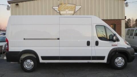 2019 RAM ProMaster Cargo for sale at Vans Of Great Bridge in Chesapeake VA
