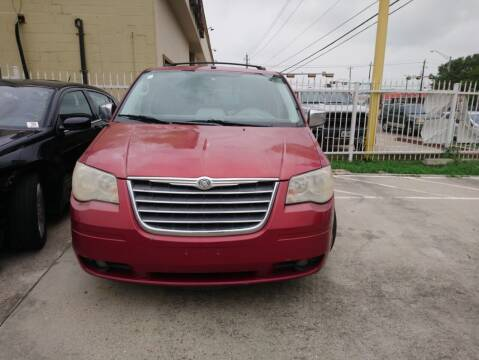 2008 Chrysler Town and Country for sale at TEXAS MOTOR CARS in Houston TX