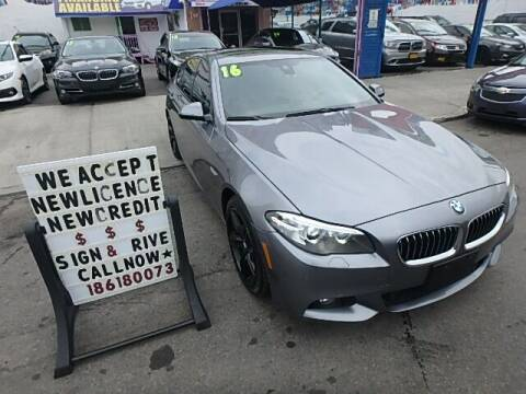 2016 BMW 5 Series for sale at 4530 Tip Top Car Dealer Inc in Bronx NY