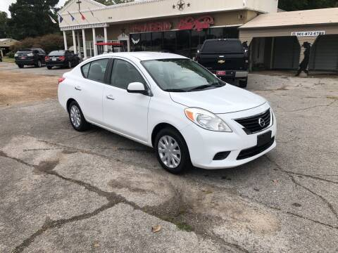 2012 Nissan Versa for sale at Townsend Auto Mart in Millington TN