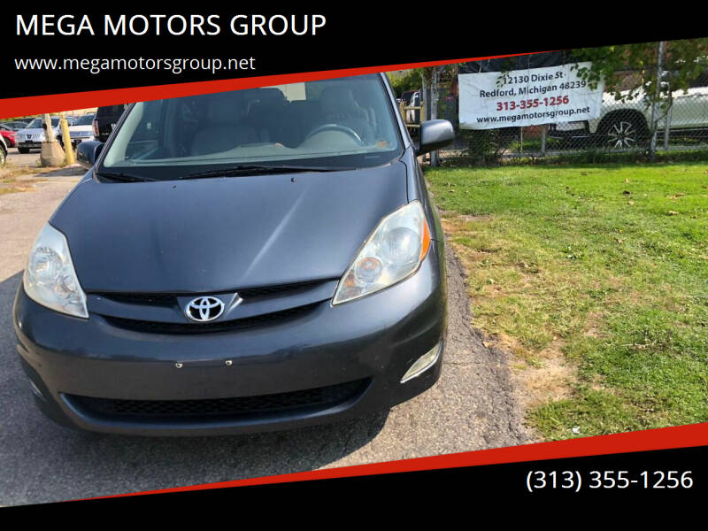 2007 Toyota Sienna for sale at MEGA MOTORS GROUP in Redford MI