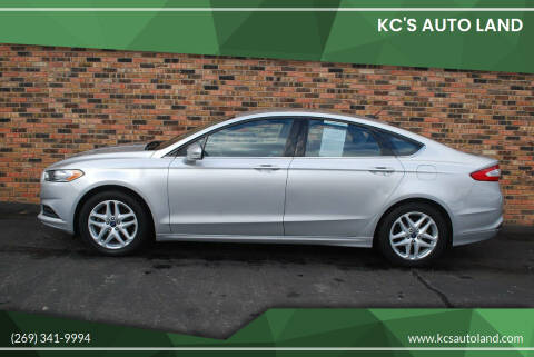 2016 Ford Fusion for sale at KC'S Auto Land in Kalamazoo MI