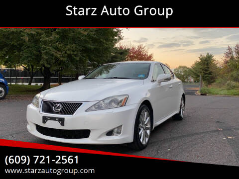 2009 Lexus IS 250 for sale at Starz Auto Group in Delran NJ