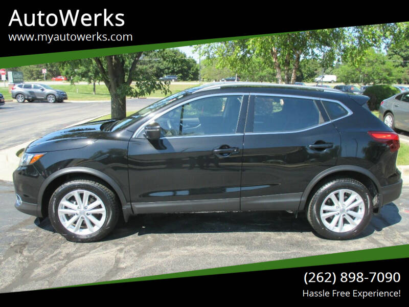 2018 Nissan Rogue Sport for sale at AutoWerks in Sturtevant WI