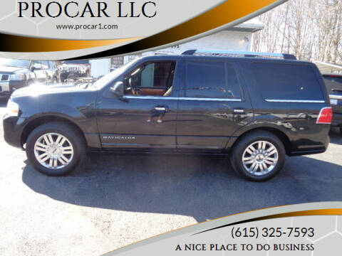 2013 Lincoln Navigator for sale at PROCAR LLC in Portland TN