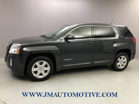 2014 GMC Terrain for sale at J & M Automotive in Naugatuck CT
