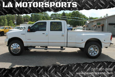 2006 Ford F-350 Super Duty for sale at LA MOTORSPORTS in Windom MN