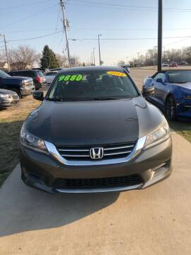 2014 Honda Accord for sale at Wyss Auto in Oak Creek WI