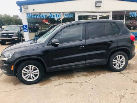 2013 Volkswagen Tiguan for sale at Pioneer Auto in Ponca City OK