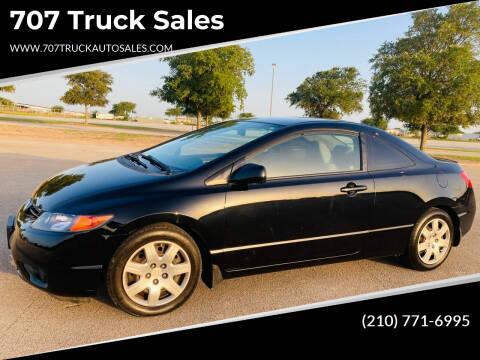 2008 Honda Civic for sale at 707 Truck Sales in San Antonio TX