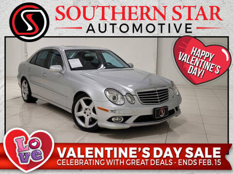 2009 Mercedes-Benz E-Class for sale at Southern Star Automotive, Inc. in Duluth GA