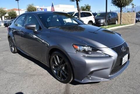 2014 Lexus IS 250 for sale at DIAMOND VALLEY HONDA in Hemet CA