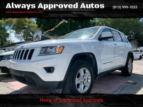 2015 Jeep Grand Cherokee for sale at Always Approved Autos in Tampa FL