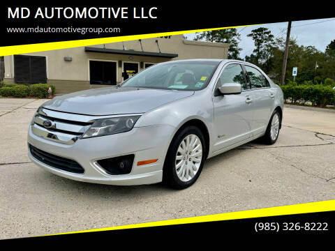 2010 Ford Fusion Hybrid for sale at MD AUTOMOTIVE LLC in Slidell LA