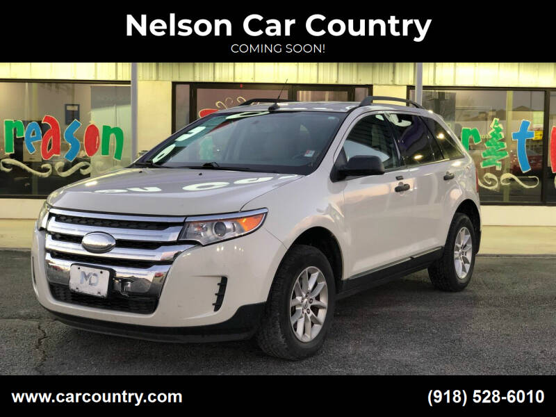 2013 Ford Edge for sale at Nelson Car Country in Bixby OK