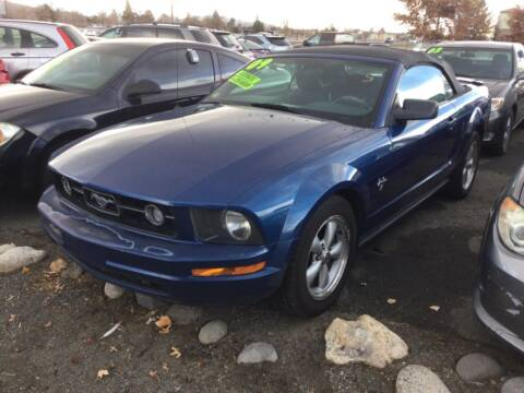 2009 Ford Mustang for sale at Small Car Motors in Carson City NV