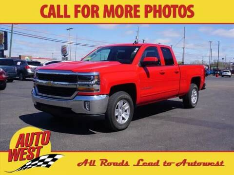 2018 Chevrolet Silverado 1500 for sale at Autowest of Plainwell in Plainwell MI