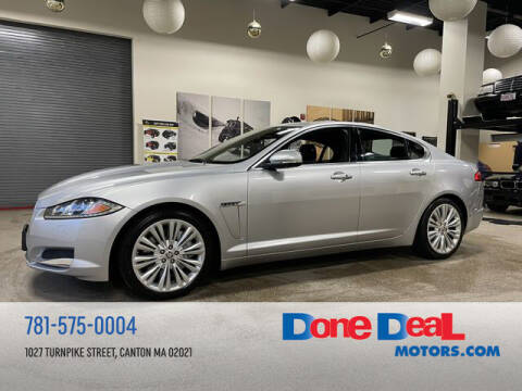 2013 Jaguar XF for sale at DONE DEAL MOTORS in Canton MA