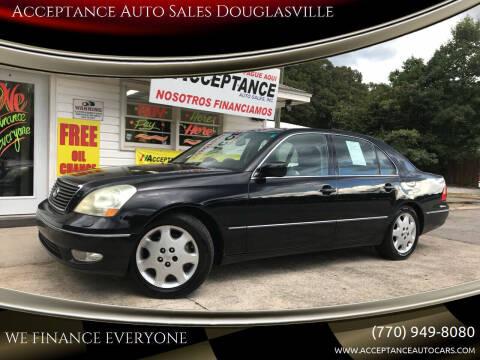 2003 Lexus LS 430 for sale at Acceptance Auto Sales Douglasville in Douglasville GA