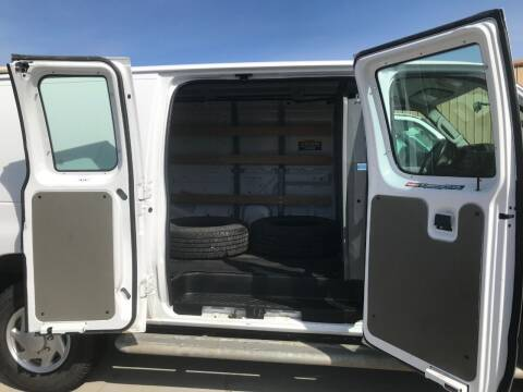 2014 SOLD.....Ford E250 Cargo Van 26,186 miles