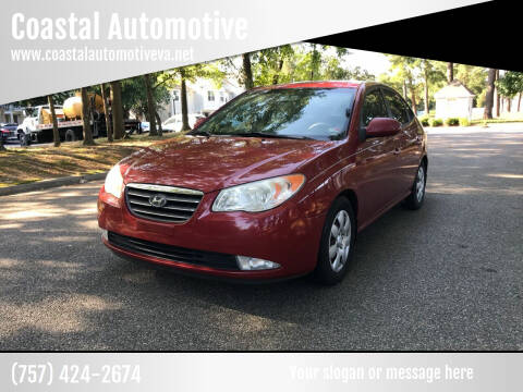 2008 Hyundai Elantra for sale at Coastal Automotive in Virginia Beach VA