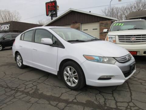 2010 Honda Insight for sale at Fox River Motors, Inc in Green Bay WI