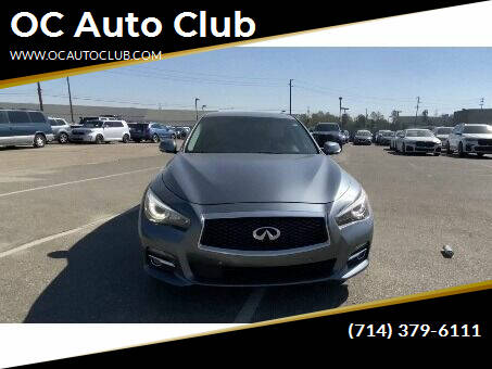 2017 Infiniti Q50 for sale at OC Auto Club in Midway City CA