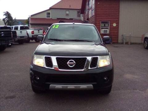 2012 Nissan Pathfinder for sale at WB Auto Sales LLC in Barnum MN